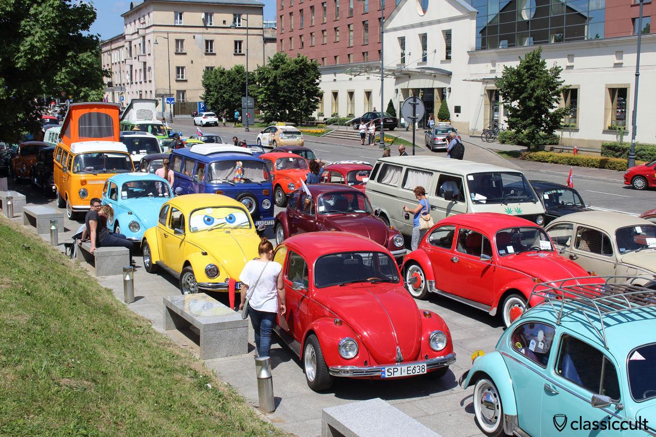 VW Show near Wawel Castle, Krakow