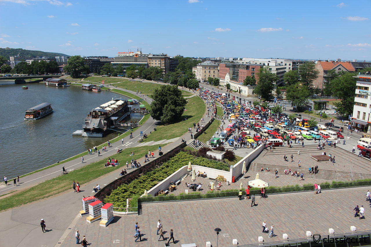 Garbojama 2015, view from the Wawel Castle