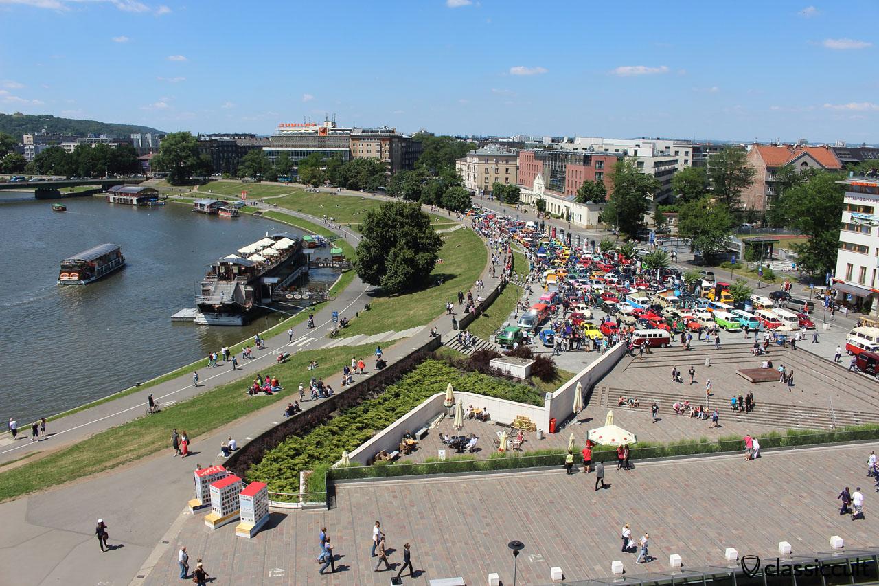 Garbojama 2015, view from the Wawel Castle