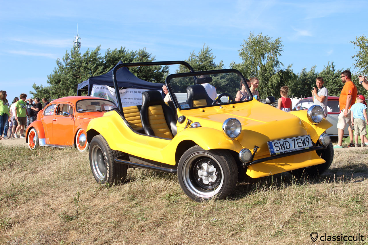 yellow VW Buggy