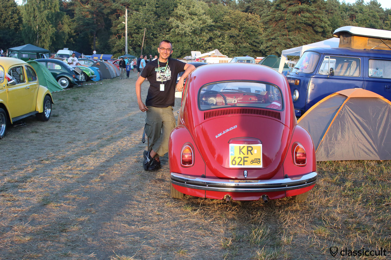 1967 VW 1300 Sedan, 40 PS, Country of destination Bremen Germany, now in Poland