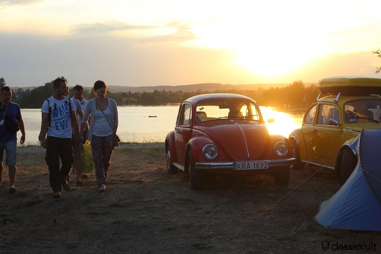 Sunset at Garbojama VW Meeting