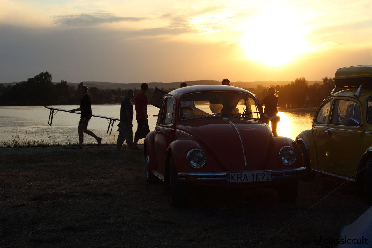 Sunset at Garbojama 2015 VW Meeting