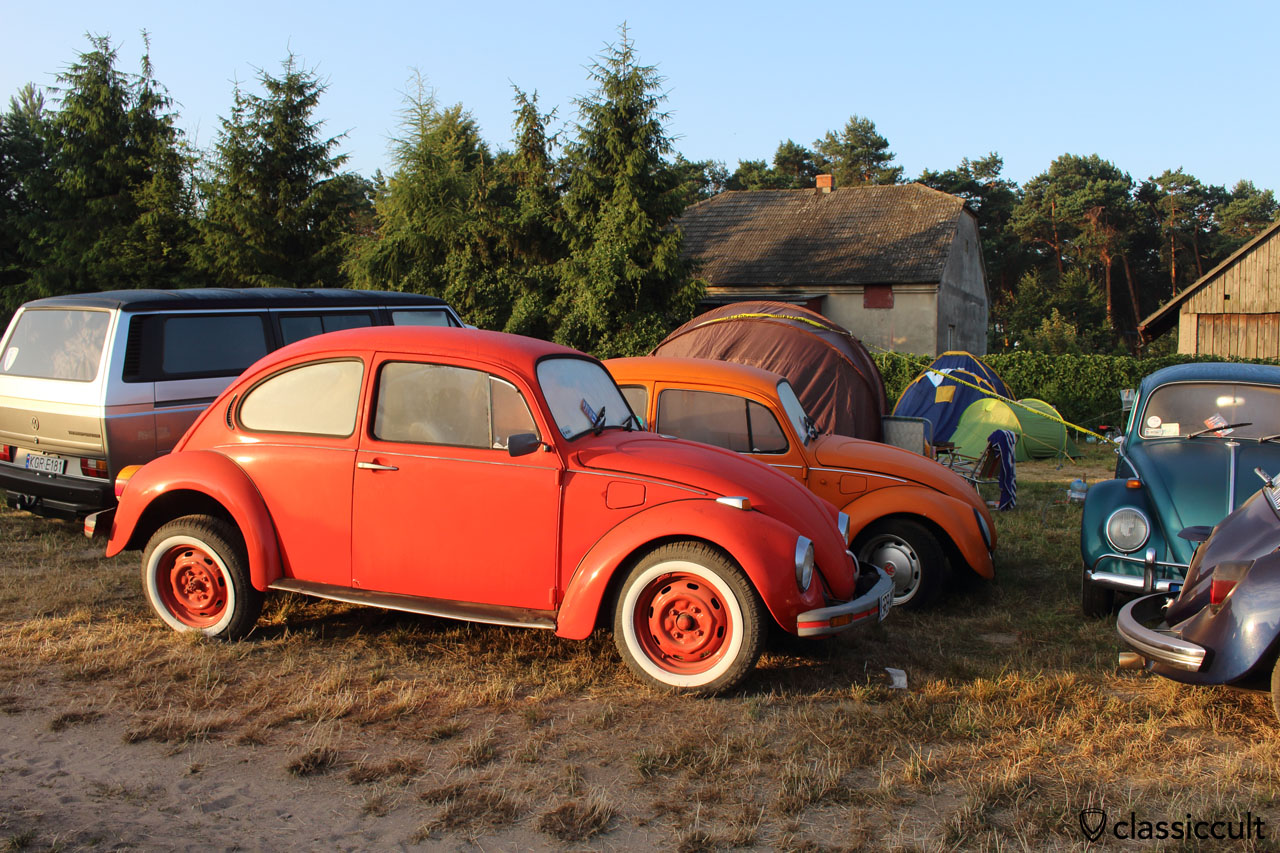 Camping at Garbojama VW Meeting