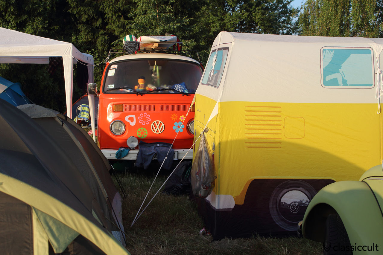 Camping at Garbojama VW Meeting