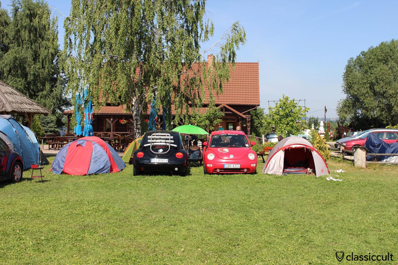 New Beetles, Garbojama VW meeting
