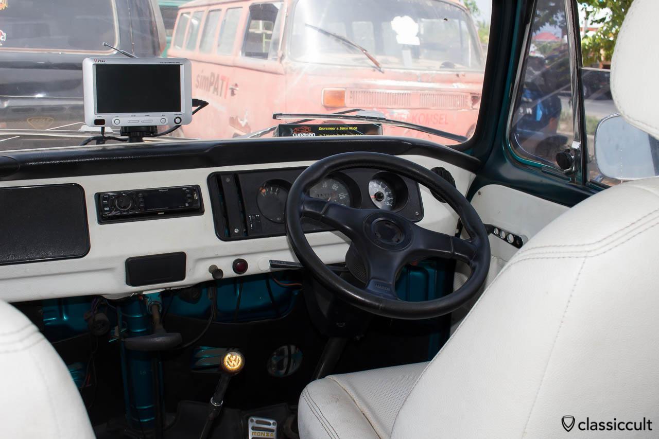 Nice German Bay Window Bus of a BANDA ACEH VW CLUB member
