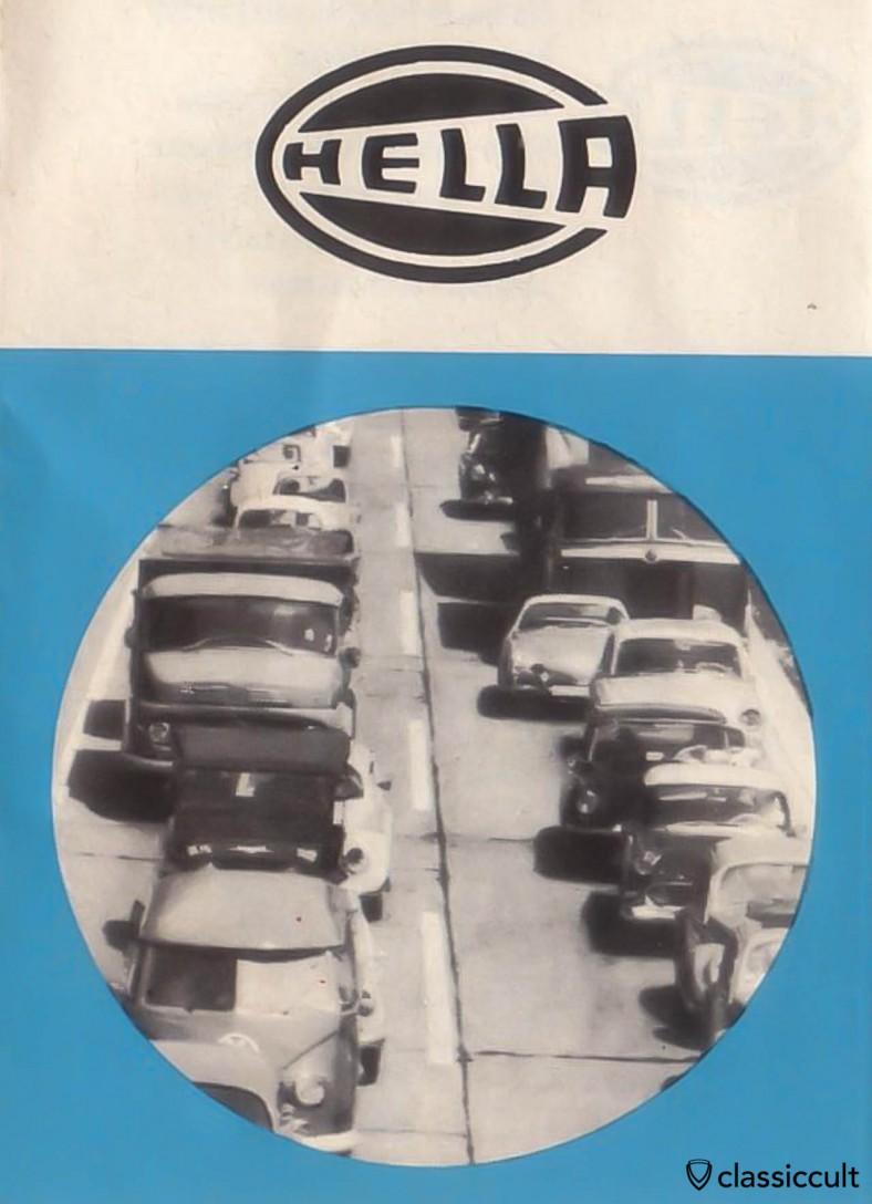 Hella lights advertisement 1960