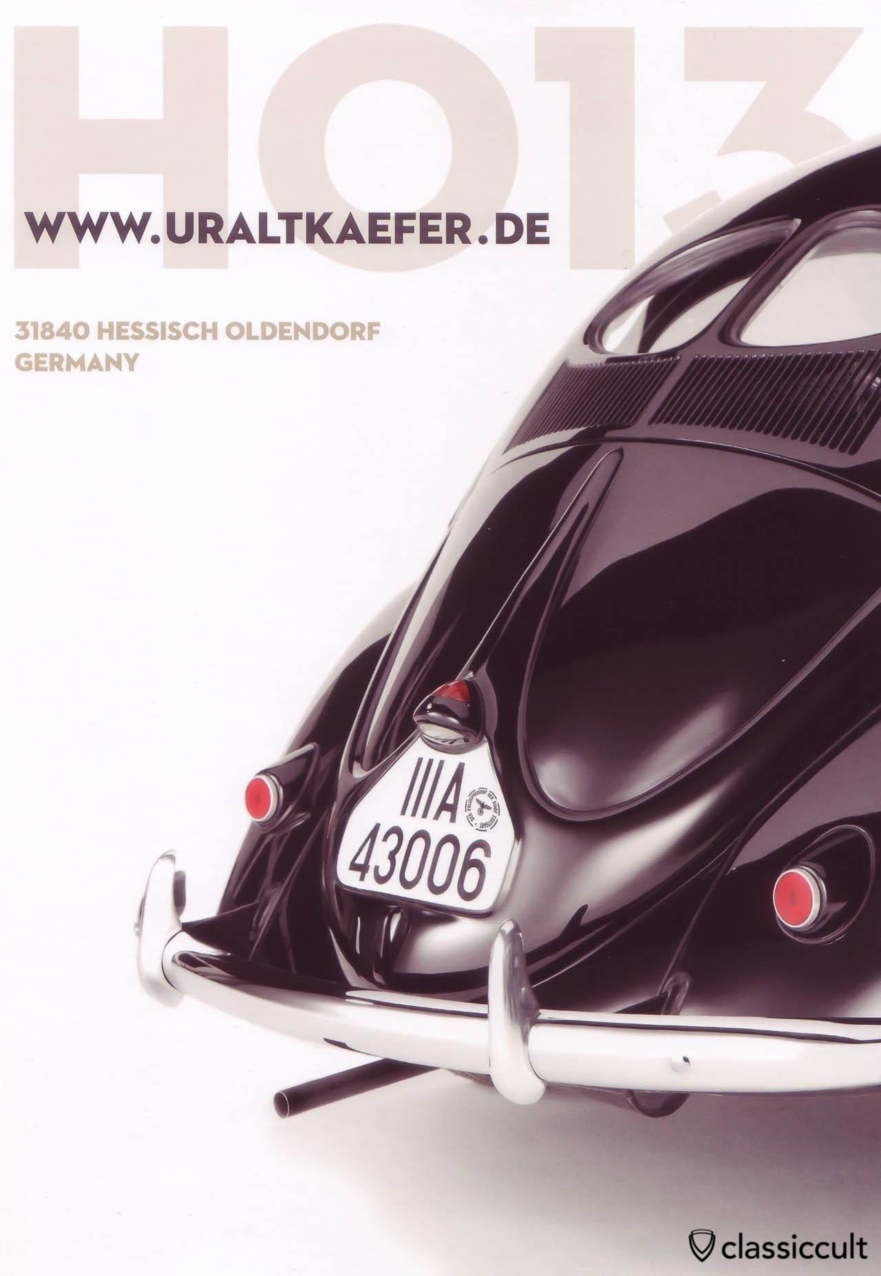 Hessisch Oldendorf HO 2013 - 6th International Vintage VW Show 21.06.2013 - 23.06.2013 Flyer