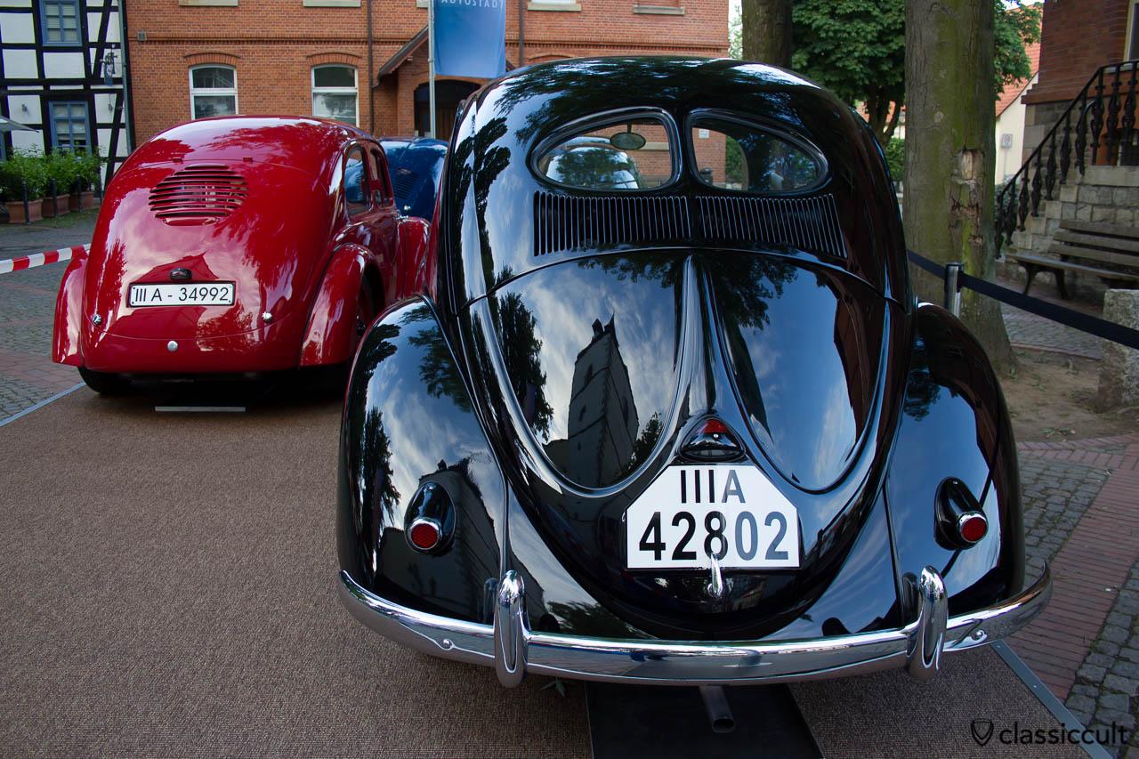 Volkswagen Museum Split Beetle IIIA 42802, Hessisch Oldendorf VW Show 2013