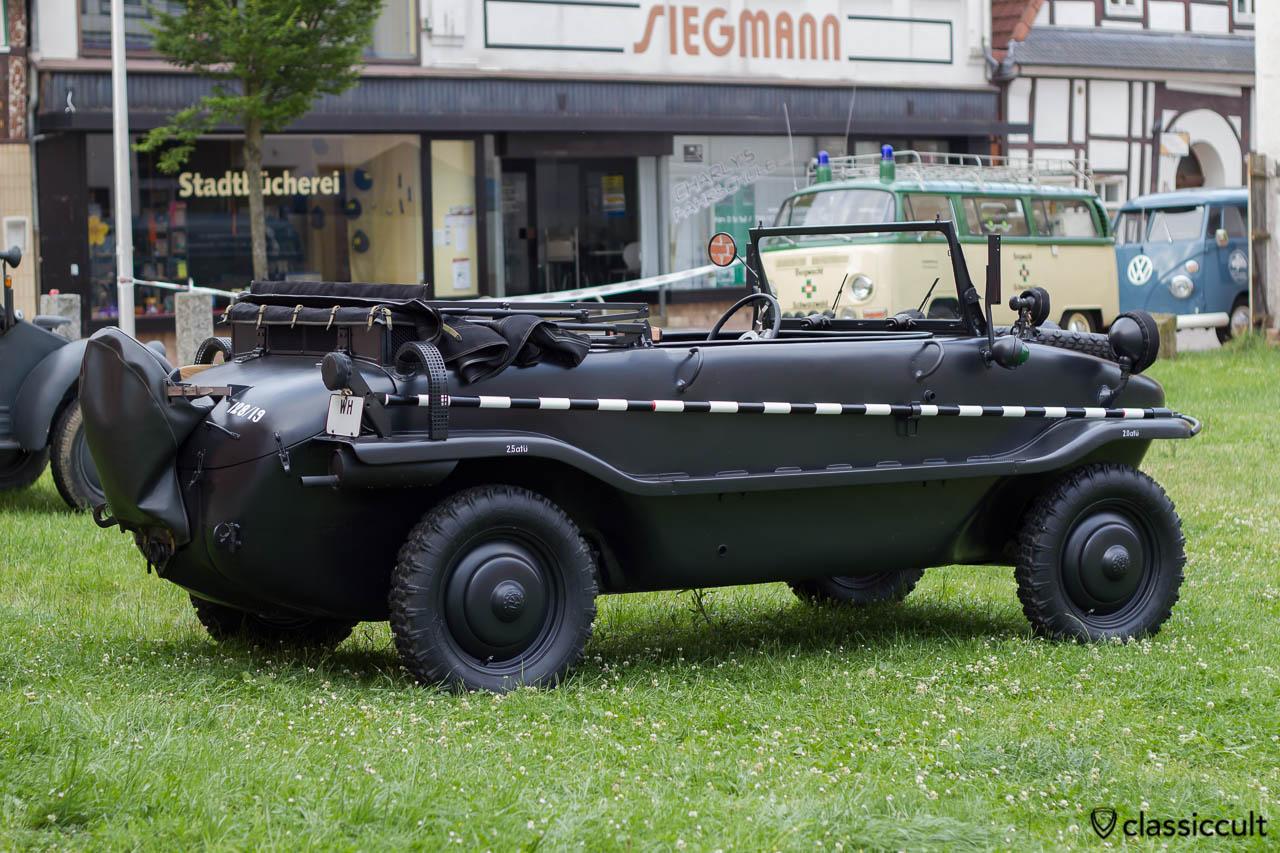 Typ 128 Schwimmwagen 128/19, Hessisch Oldendorf Vintage VW Show HO 2013