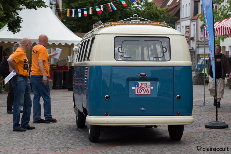 T1 Barndoor Combi from Leer Germany, Hessisch Oldendorf Vintage VW Show HO 2013