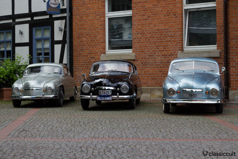 Rometsch Beeskow Coupe Line-Up, Vintage VW Show Hessisch Oldendorf 2013