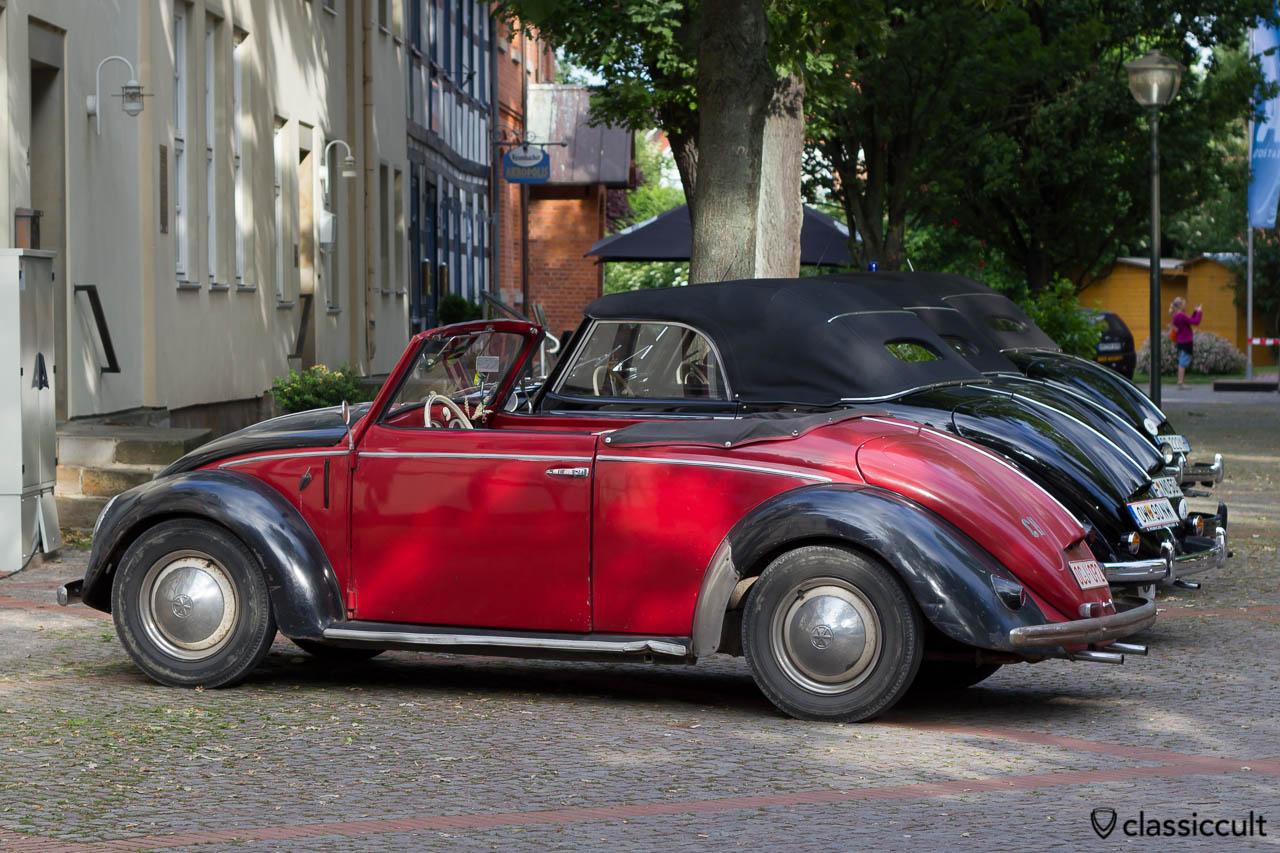 Hebmüller VW Käfer auf dem 6. Volkswagen Veteranentreffen in Hessisch Oldendorf 2013
