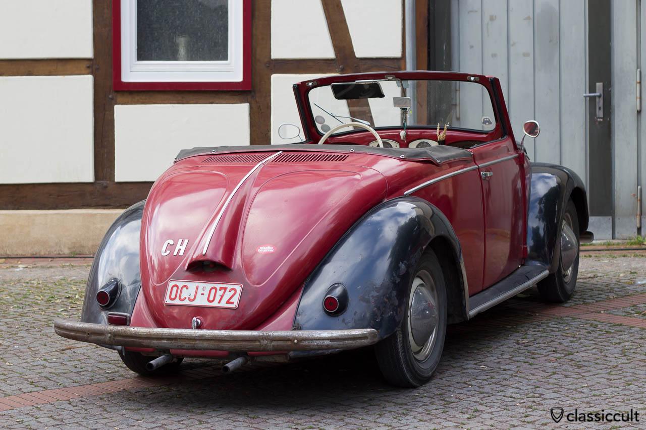VW Hebmüller Cabriolet aus der Schweiz