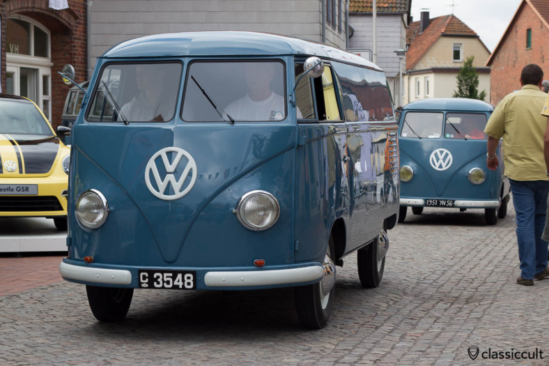 original VW Split Panel Van, Hessisch Oldendorf 2013
