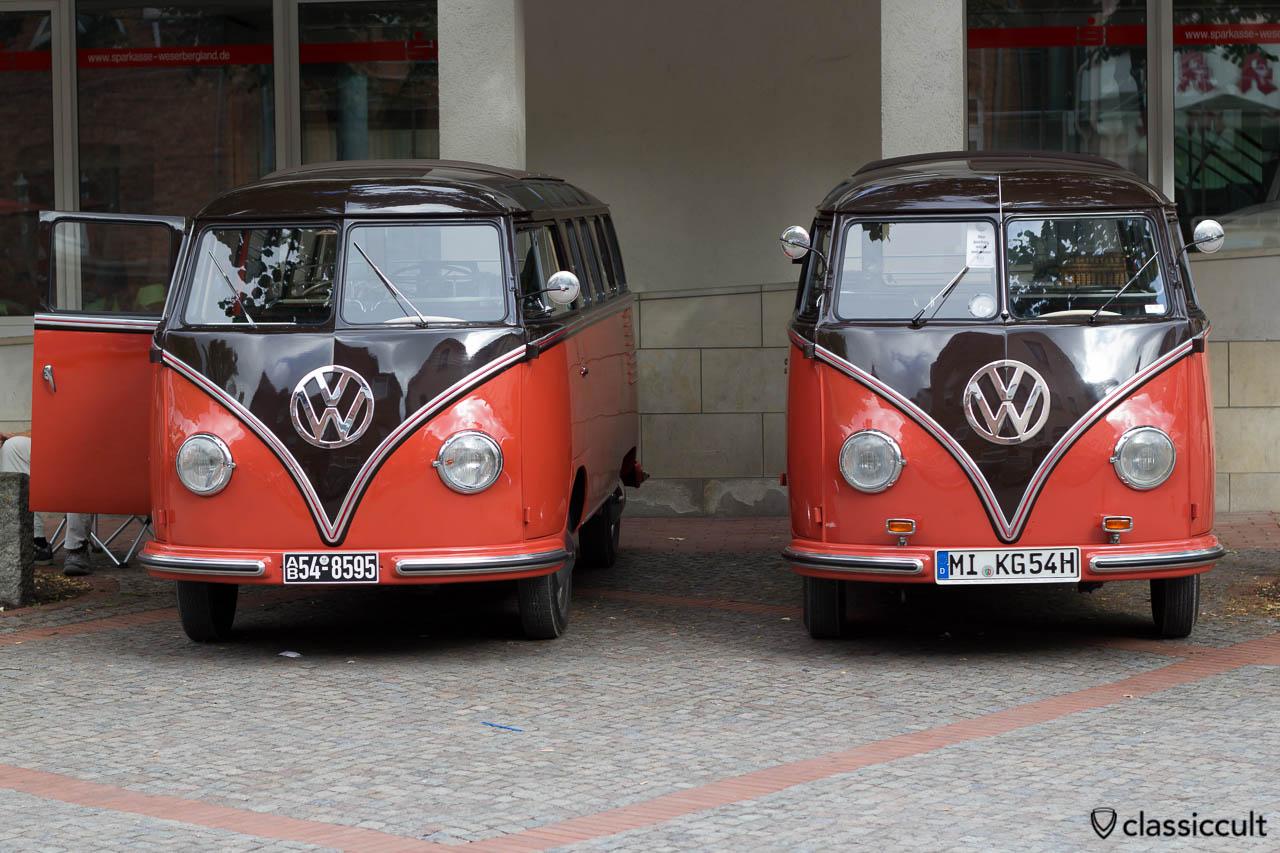 T1 Samba Bus, VW Veteranentreffen in Hessisch Oldendorf 2013
