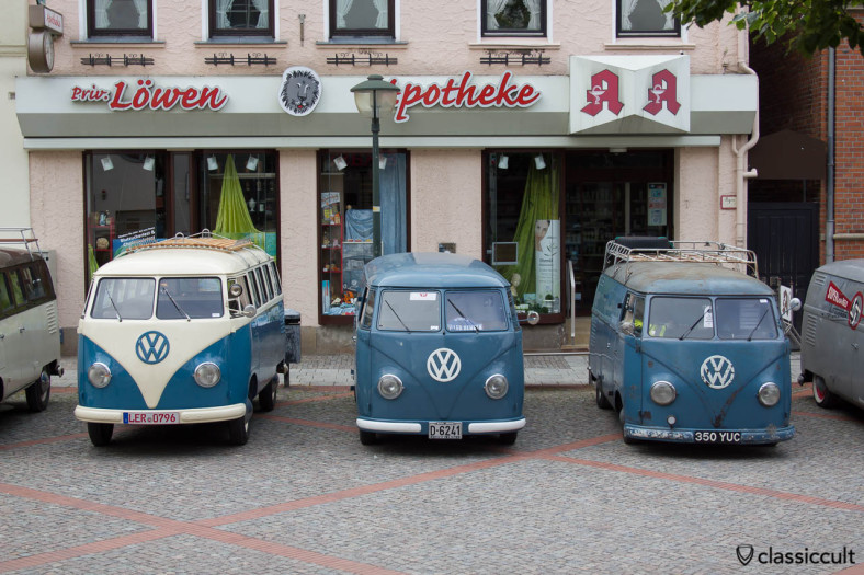 VW T1 Barndoor Splits, Vintage VW Meeting Hessisch Oldendorf 2013