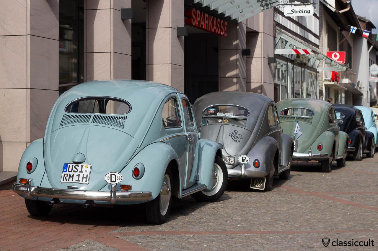 1956 VW Käfer Ovali aus Usingen Deutschland, Veteranentreffen Hessisch Oldendorf 2013