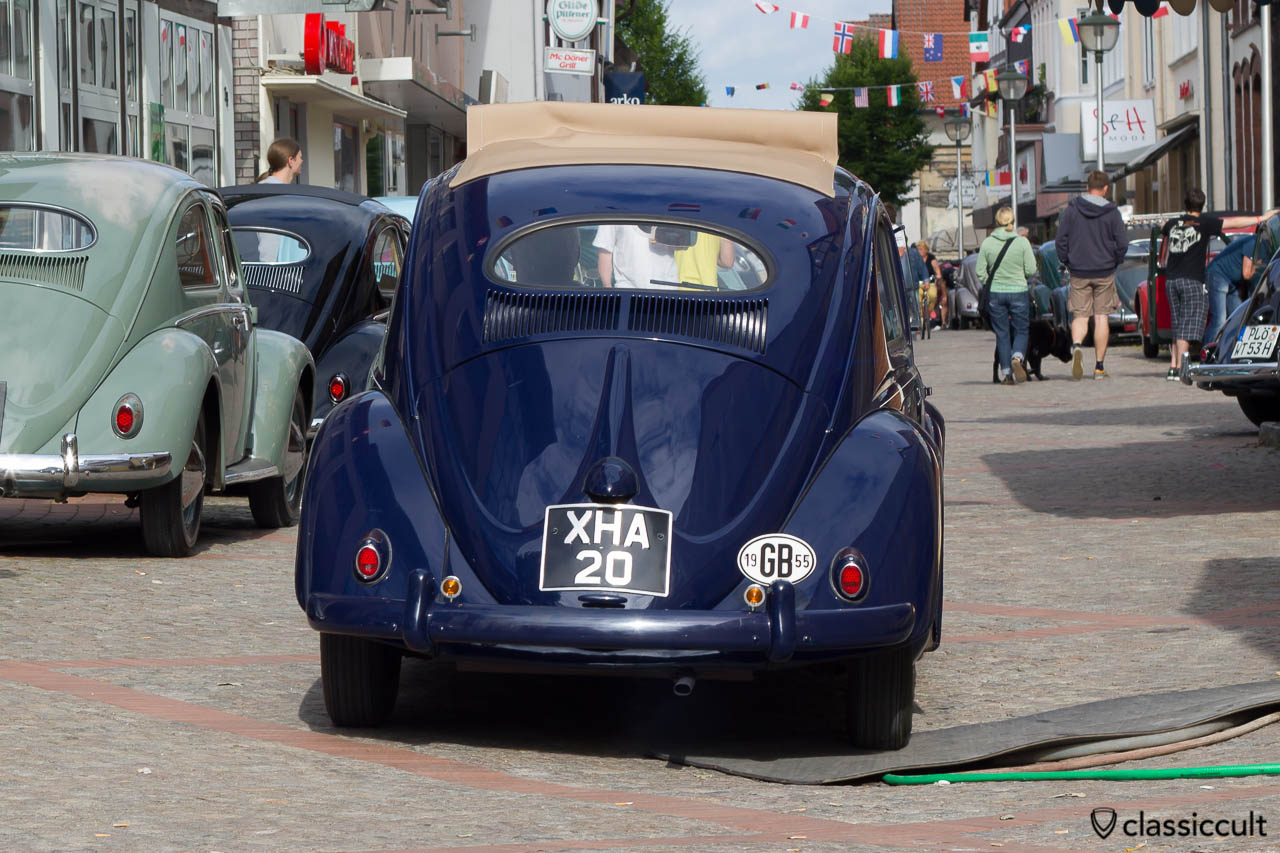 1955 Oval Beetle from GB, Vintage VW Meeting Hessisch Oldendorf 2013