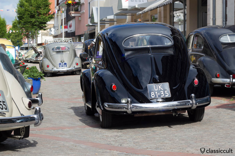 1953 Oval Beetle from UK, Vintage VW Meeting Hessisch Oldendorf 2013