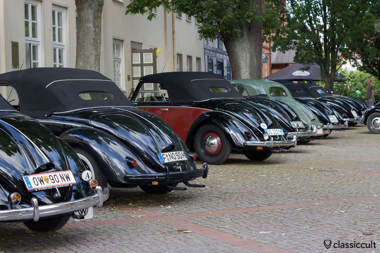 Hebmüller Line-Up 6th International Vintage Volkswagen Show Hessisch Oldendorf 2013
