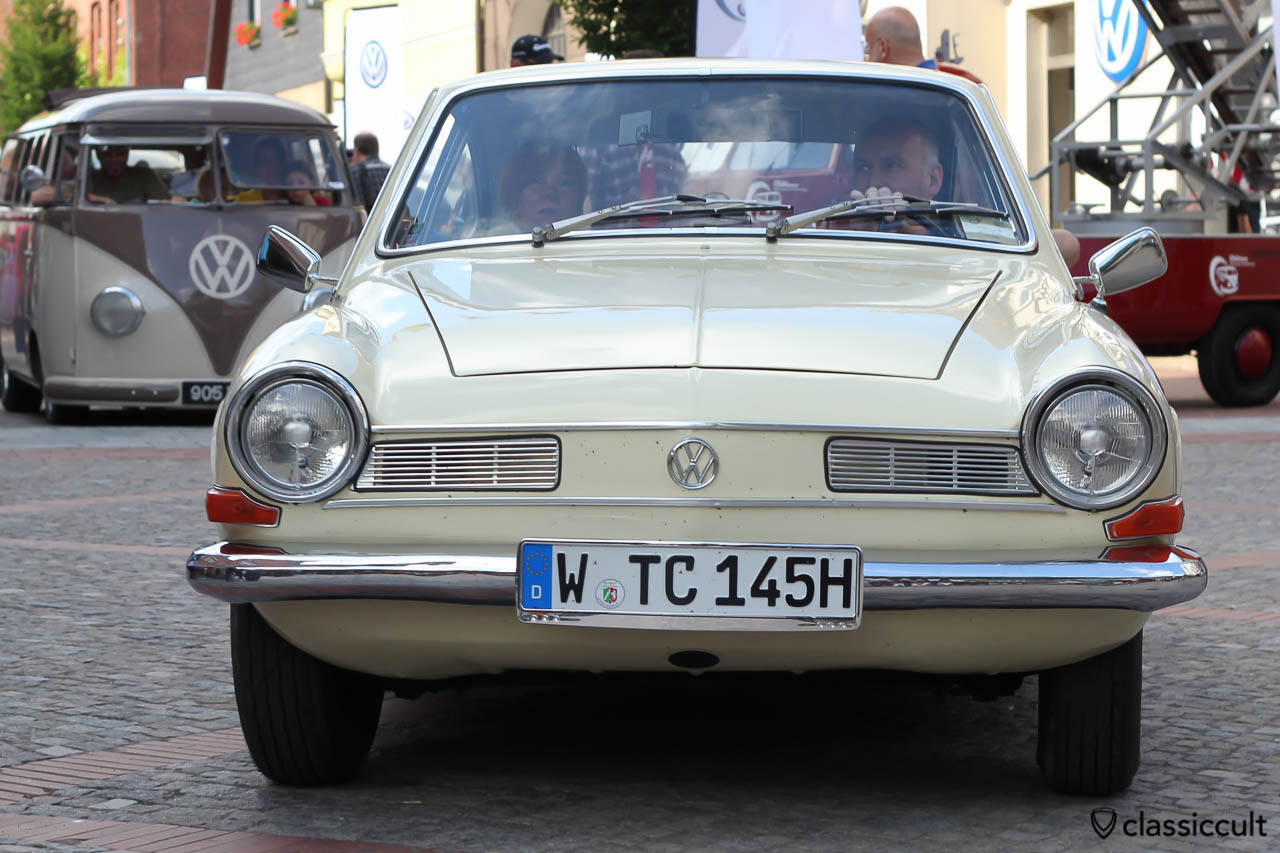 Karmann Ghia TC, Typ 145, 1974, lotusweiss, Hessisch Oldendorf 2013