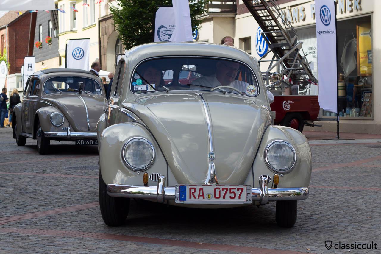 Brezel Käfer aus Rastatt Deutschland, Hessisch Oldendorf VW Treffen 2013