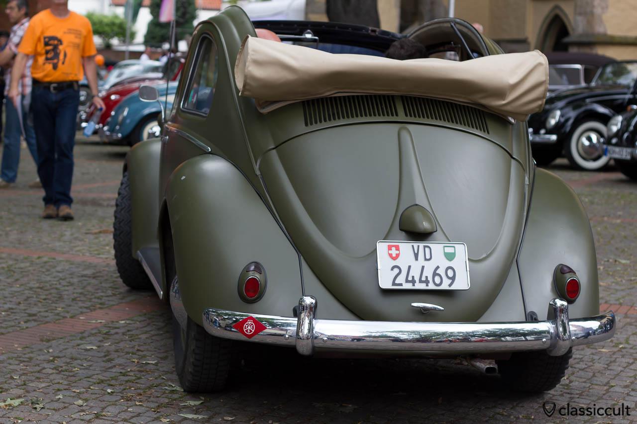 VW Split Ragtop Beetle HO2013