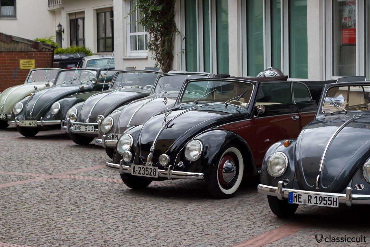 VW Karmann Käfer Cabrio, Veteranentreffen Hessisch Oldendorf 2013
