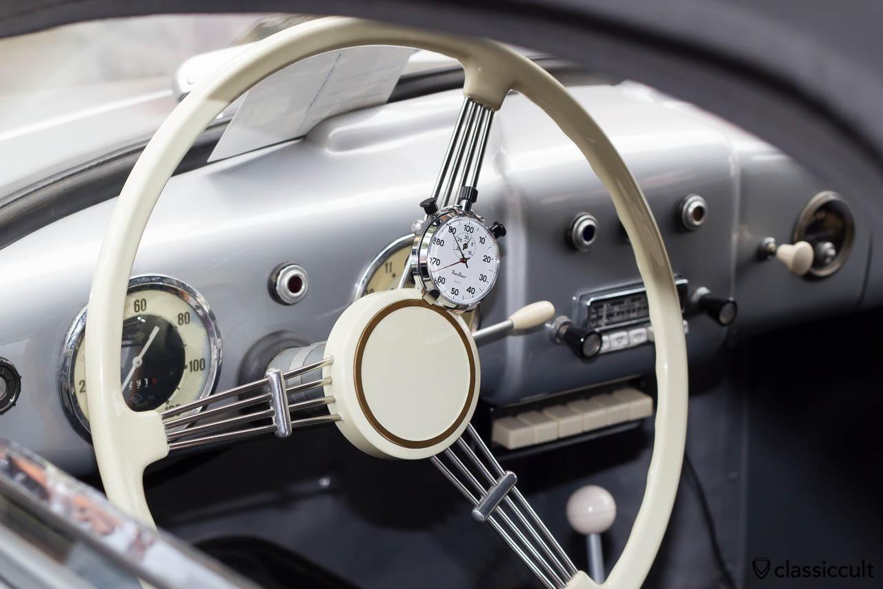 1955 VW Thonfeld Cabriolet inside, W. Thonfeld, Dreseden, Hessisch Oldendorf 2013