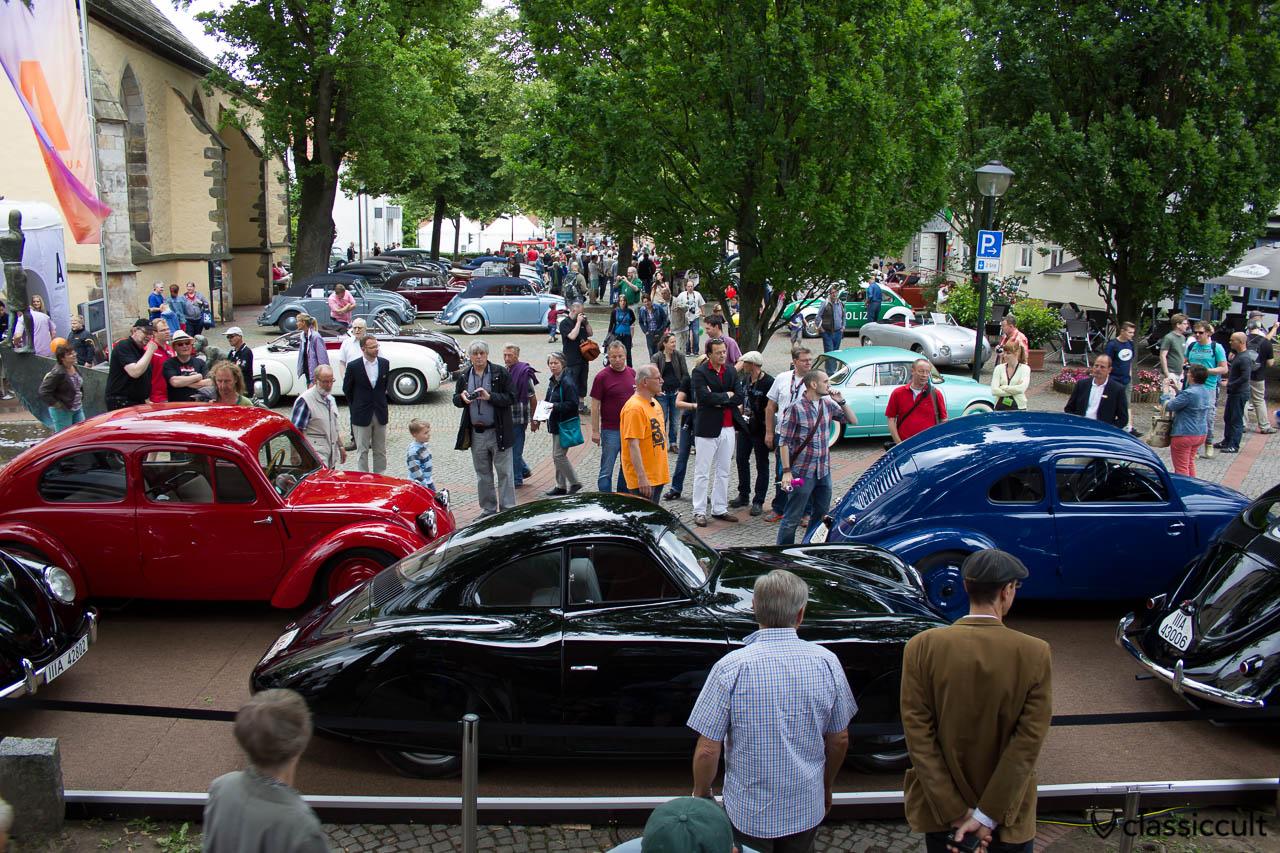 Traugott Grundmann, Berlin-Rom-Wagen, VW Prototyp, Vintage Volkswagen Show Hessisch Oldendorf June 2013