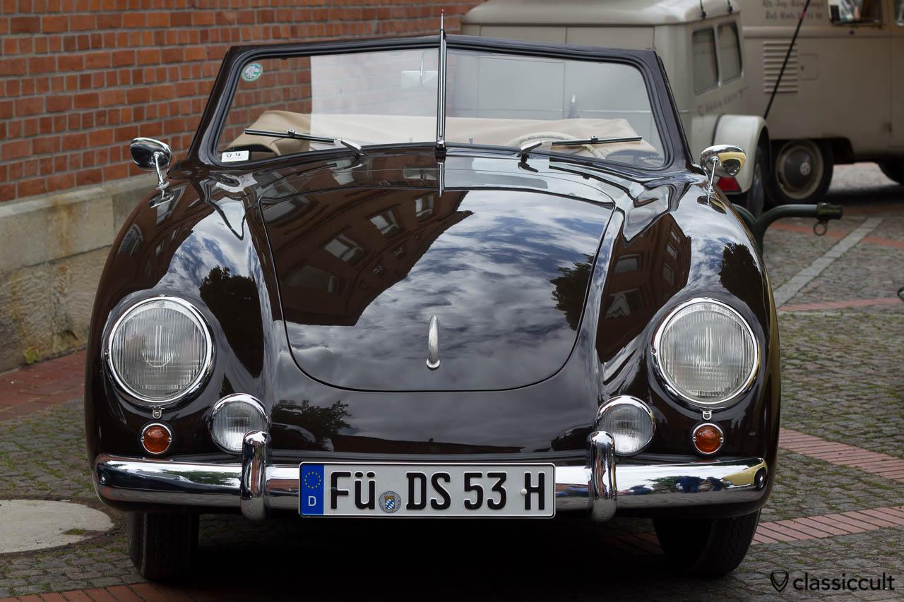 Dannenhauer Stauss VW Cabriolet 1953, Hessisch Oldendorf Vintage VW Show 2013