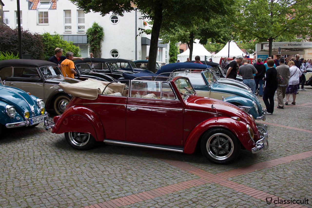 Volkswagen Vert Beetle, slammed, Hessisch Oldendorf VW Show 2013