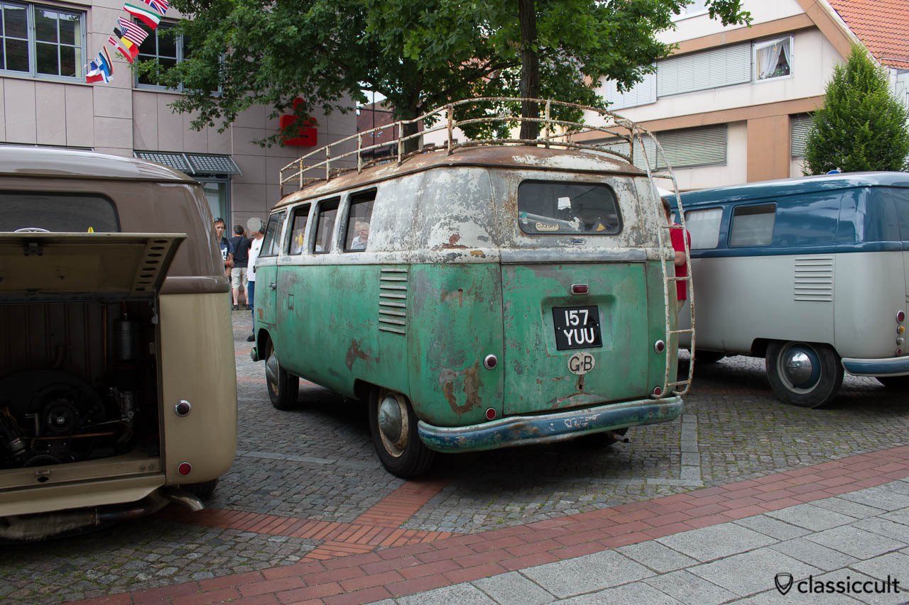 T1 Barndoor Combi with patina from GB, Hessisch Oldendorf VW Show HO 2013