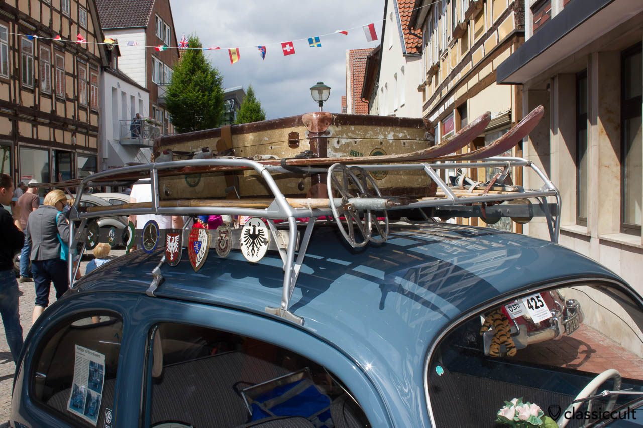 VW Beetle roof rack, Hessisch Oldendorf VW Show 2013