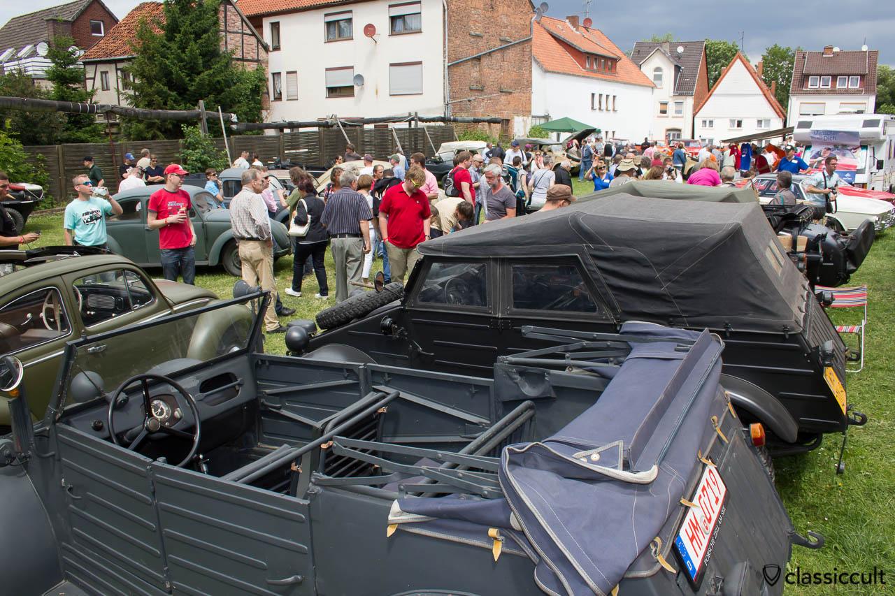 VW Kübelwagen Typ 82, Vintage VW Treffen Hessisch Oldendorf 2013
