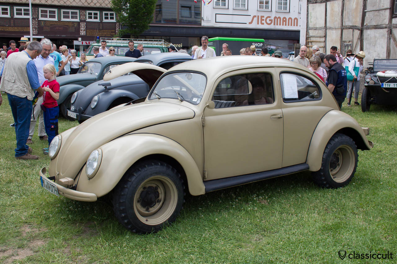 KDF Split Bug, Hessisch Oldendorf VW Show 2013