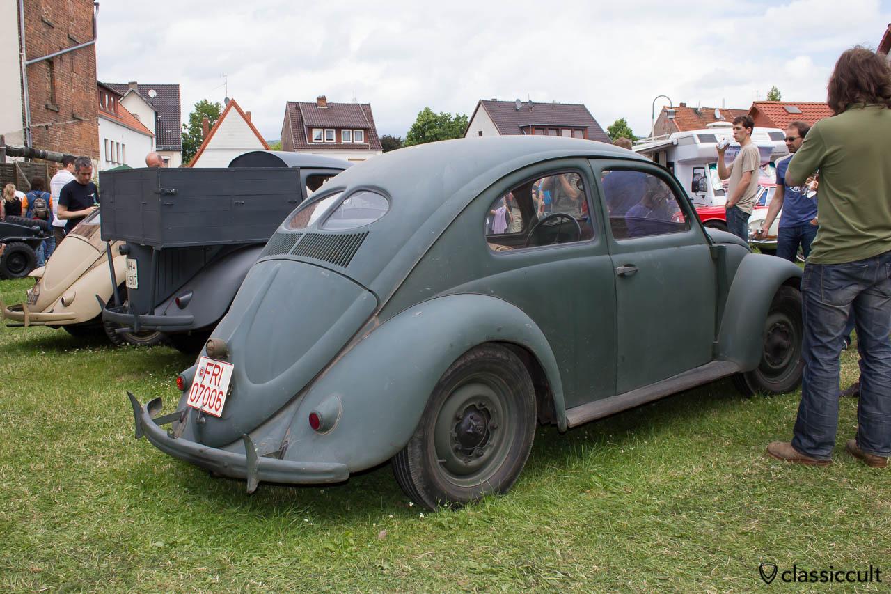 Volkswagen KDF Split Bug, Hessisch Oldendorf Vintage Show 2013