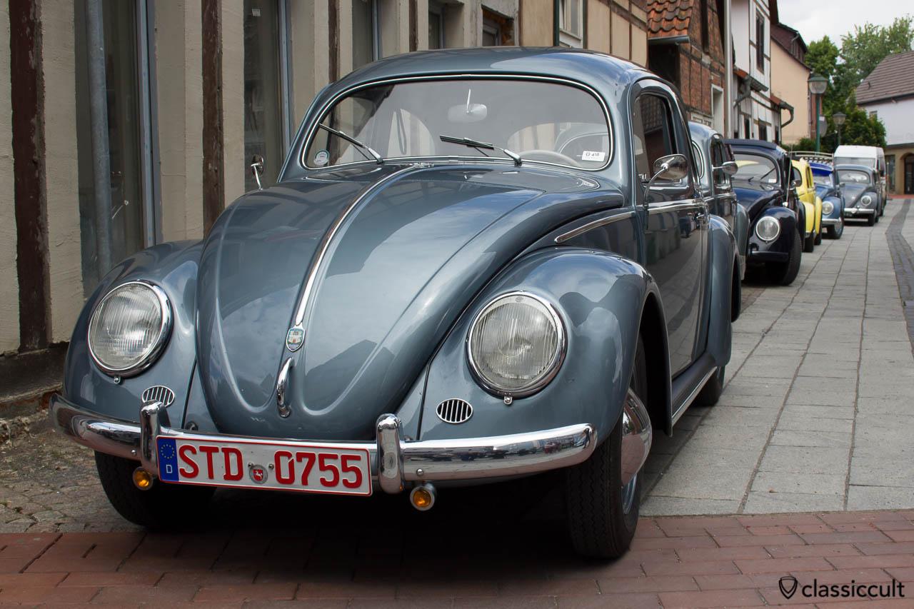 VW Ovali Käfer aus Stade Deutschland, VW Veteranentreffen in Hessisch Oldendorf 2013