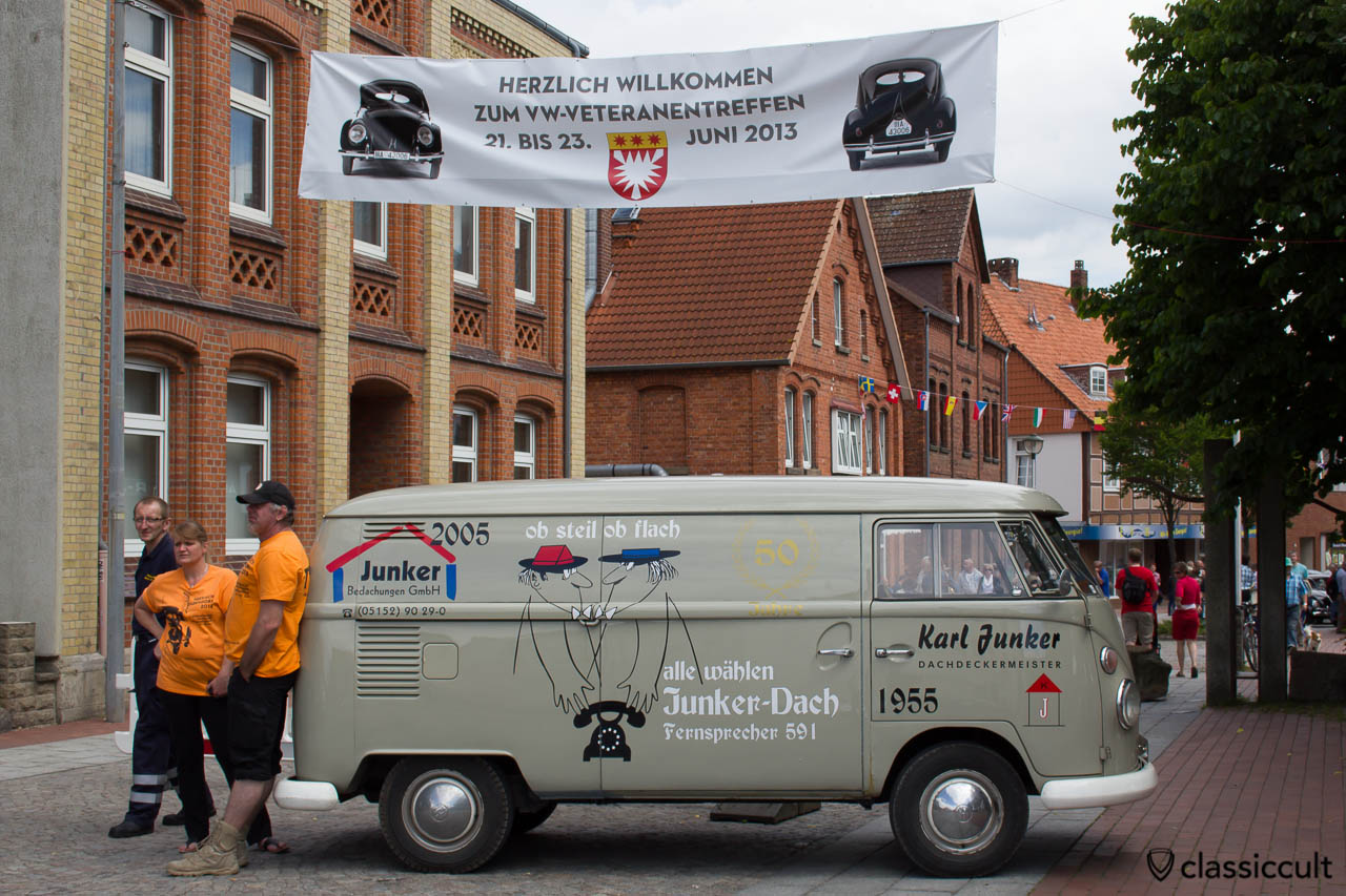 Grundmann Junker Dachdeckermeister VW T1 Kastenwagen Hessisch Oldendorf 2013