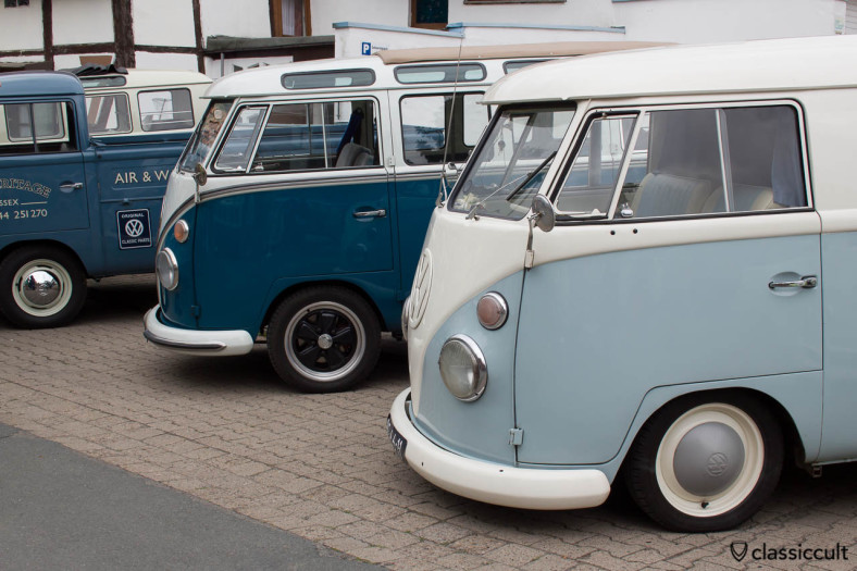 VW Split Screen Bus, Hessisch Oldendorf, June 22, 2013