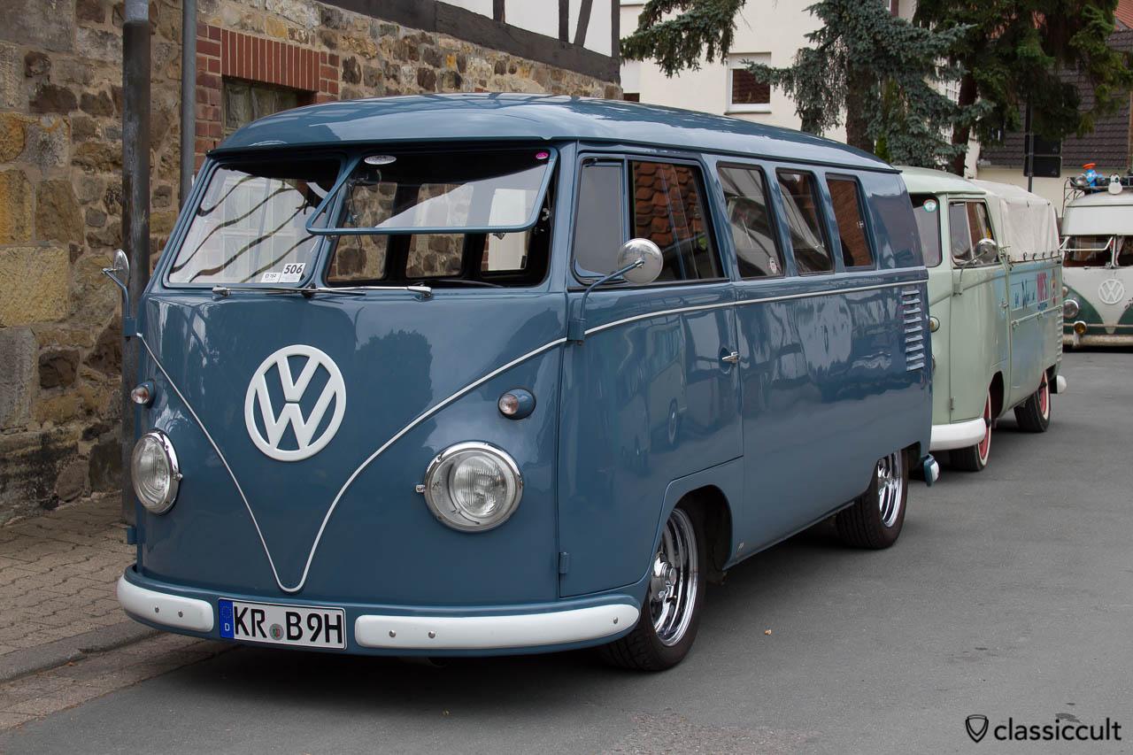 VW T1 Bus mit Safari Fenster aus Krefeld Deutschland, Hessisch Oldendorf 2013