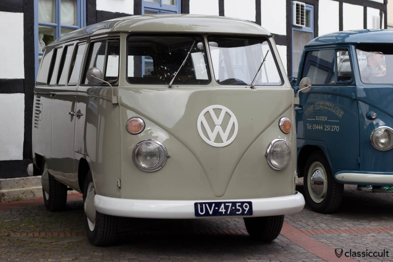 original T1 Combi Split Bus from Nederland, VW Meeting Hessisch Oldendorf 2013
