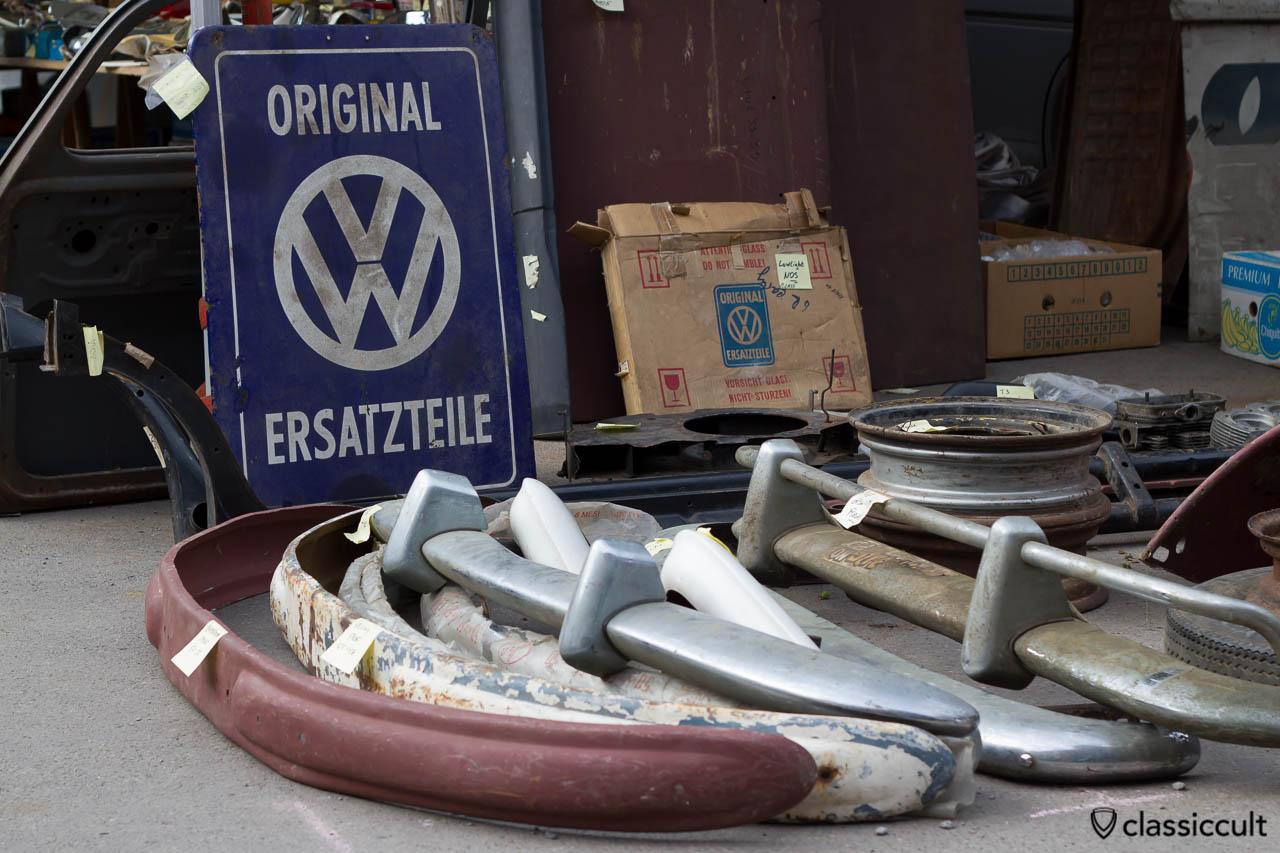 Original Volkswagen Ersatzteile Veteranentreffen in Hessisch Oldendorf 2013