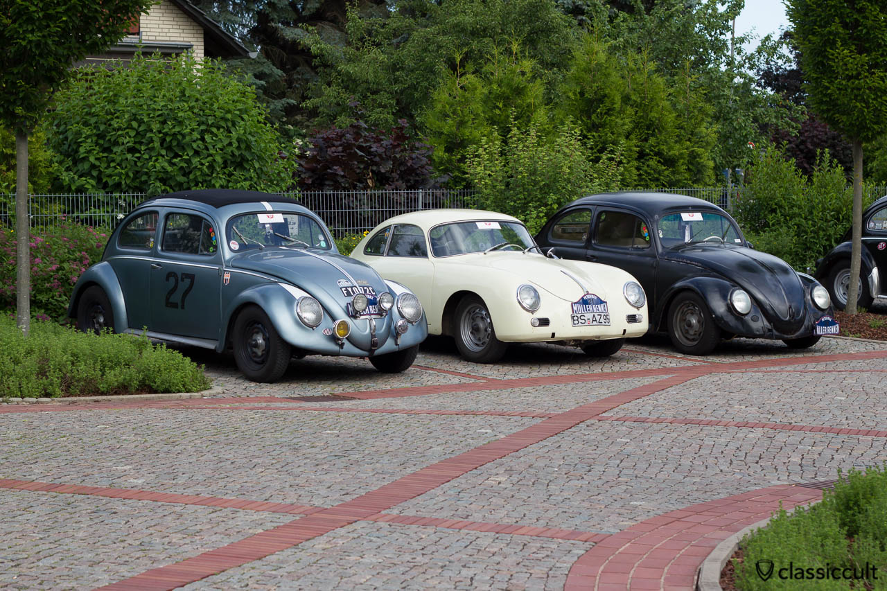 Petermax Mueller Race VW Beetle and Porsche 356, 6th International Show Hessisch Oldendorf 2013