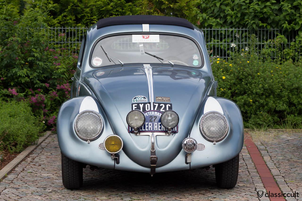 VW Ovali Käfer vom Petermax Müller Rennen auf dem VW Veteranentreffen in Hessisch Oldendorf 2013