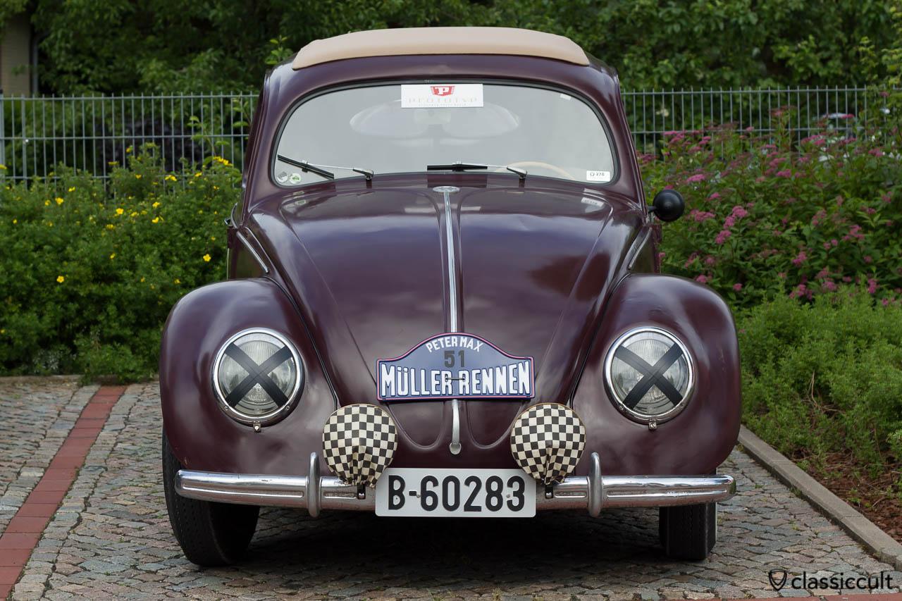 VW Brezel Käfer vom Petermax Müller Rennen auf dem VW Treffen Hessisch Oldendorf 2013