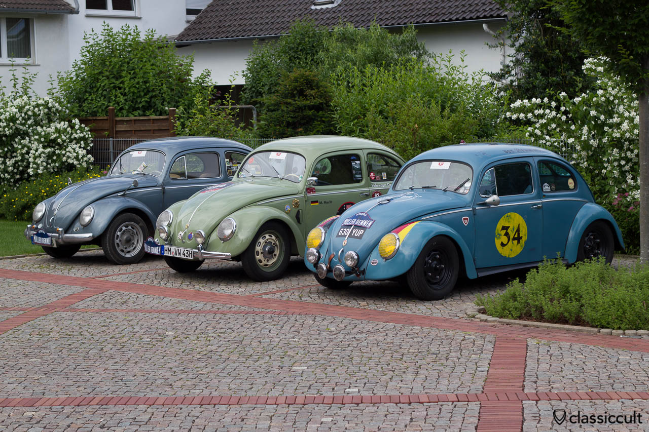 Petermax Mueller Race VW Beetles Line-Up, 6th International Show Hessisch Oldendorf 2013