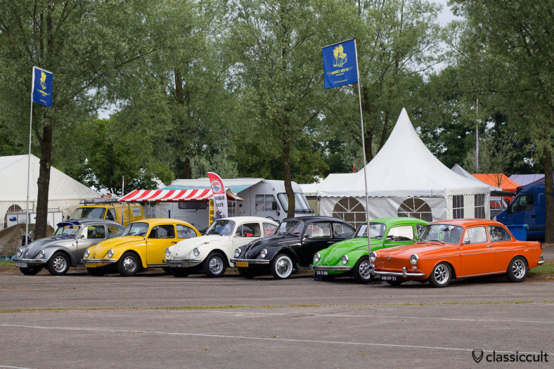 VW Beetles and a Type 3 1500 from kevercentrum.nl at Internationaal Kever Weekend Wanroij Market